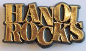 Hanoi Rocks - 'Logo' Plastic Badge
